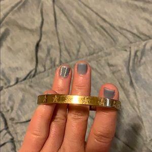 Small rose gold costume jewelry bangle